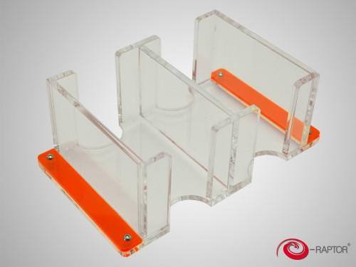 Card Holder - 2L Solid transparent (e-Raptor)
