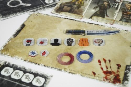 Dead of Winter Complete Tokens Set (134psc) - e-Raptor