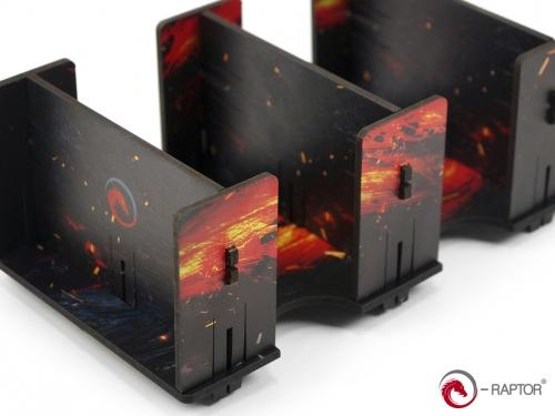 Card Holder - 2L FullPrint Lava (e-Raptor)