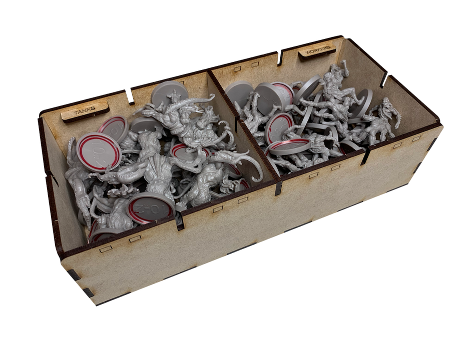 Insert til Zombicide: Invader & Dark Side (ZI-001) (Go7Gaming)
