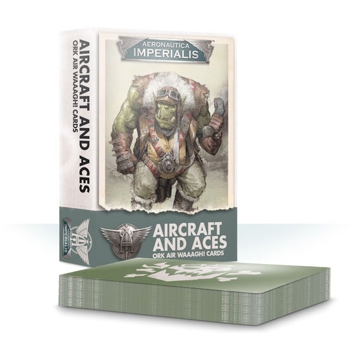 Aeronautica Imperialis: Aircraft and Aces: Ork Air Waaagh! Cards