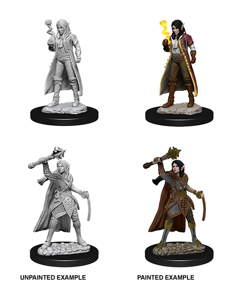 Dungeons & Dragons - Nolzur's Marvelous Miniatures: Female Elf Cleric