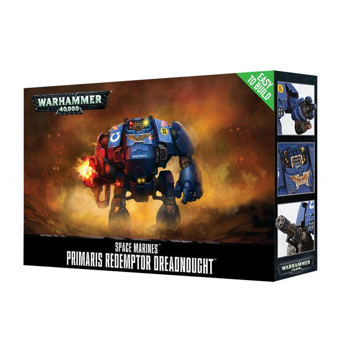 Warhammer 40,000: Easy-to-build Primaris Redemptor Dreadnought