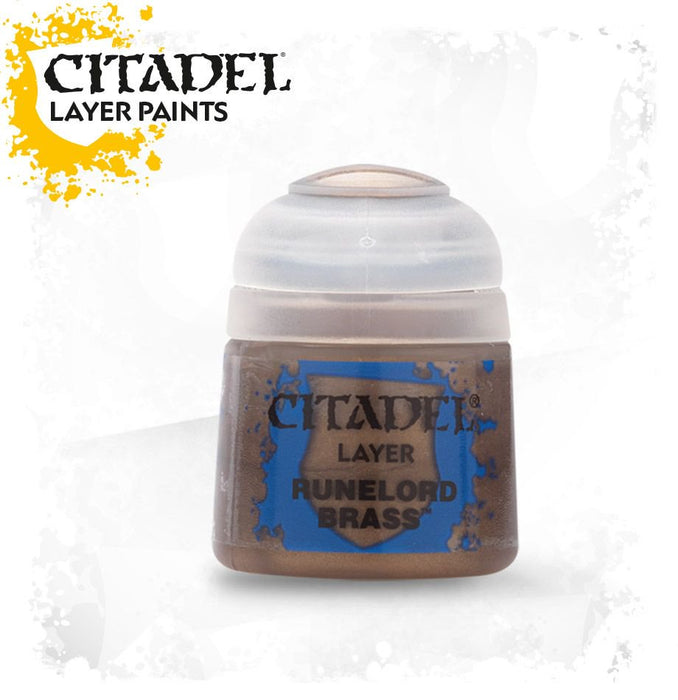 Citadel Layer Paint: Runelord Brass