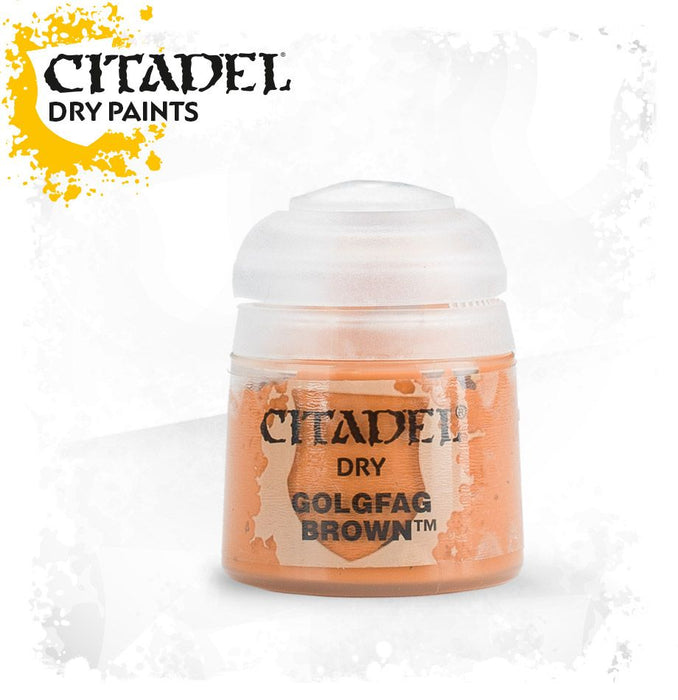 Citadel Dry Paint: Golgfag Brown