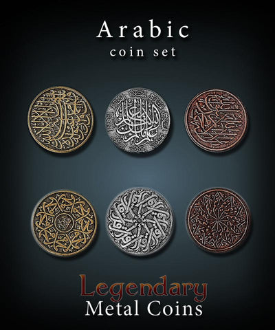 Legendary Metal Coins (Drawlab Entertainment)
