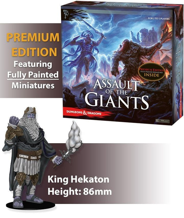Dungeons & Dragons: Assault of the Giants: Premium Edition