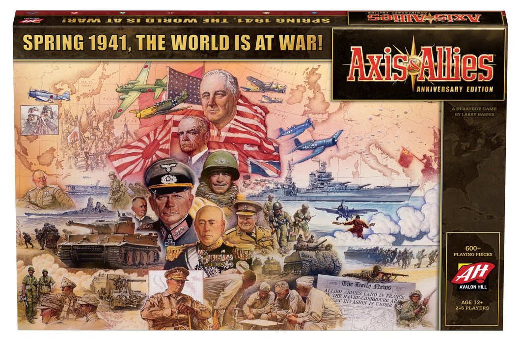Axis & Allies Anniversary Edition (second edition)