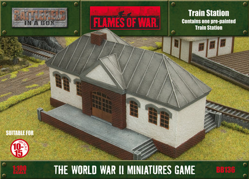 Flames of War: Train Station (BB136)
