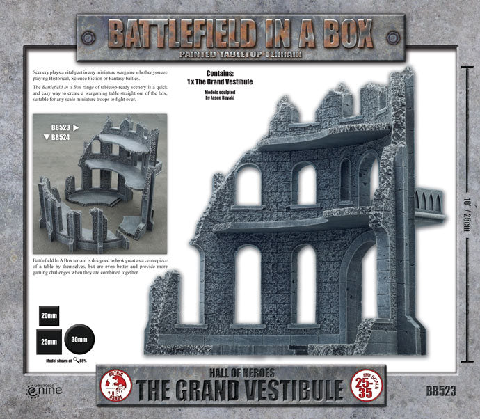 Battlefield in a Box: Gothic Battlefields - The Grand Vestibule (x1) - 30mm (BB523)