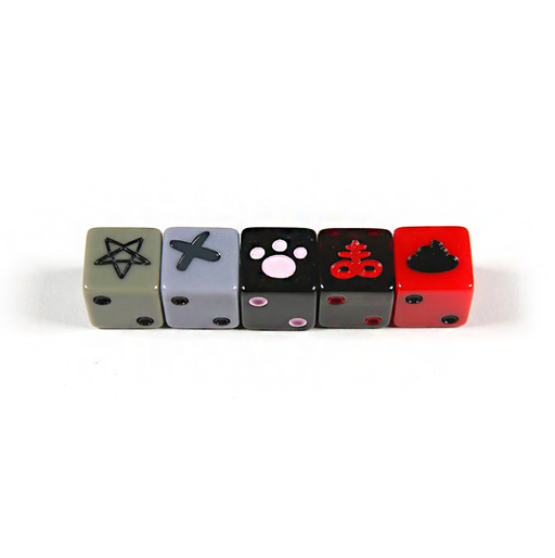 Binding of Isaac: Unholy Rollers Dice Set