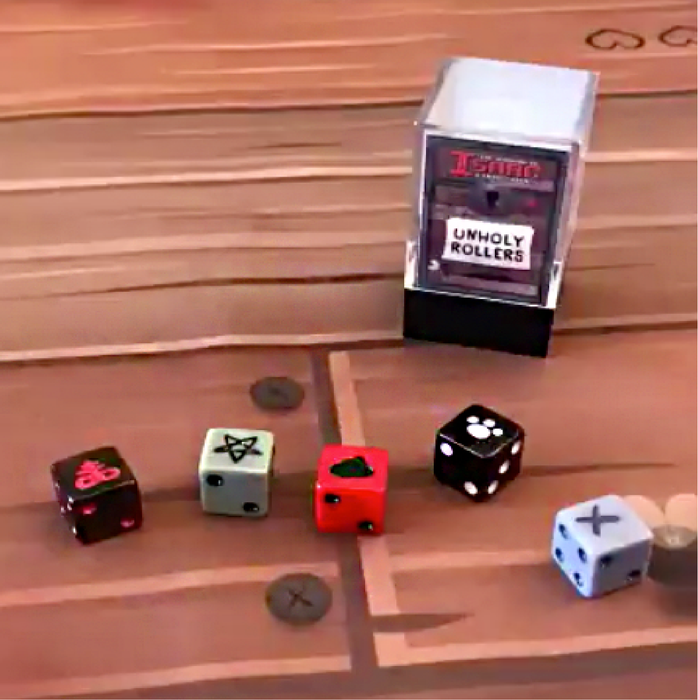 Binding Of Isaac: Unholy Rollers Dice Set— Snydepels