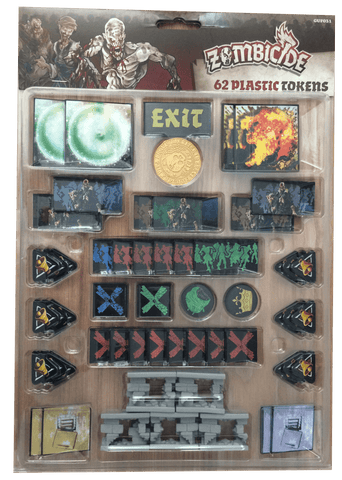 Zombicide: Black Plague - Plastic Tokens