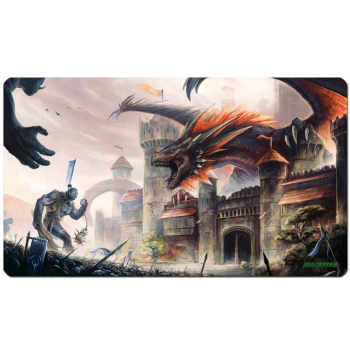 Blackfire Playmat - Guarding Dragon - Ultrafine 2mm