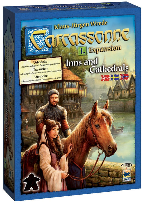 Carcassonne: Inns & Cathedrals (Nordisk)