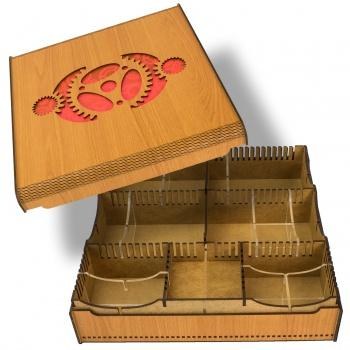 Card Crate - Gears (Blackfire)