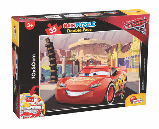 Cars 3, Maxi Puzzle (Double-Face)