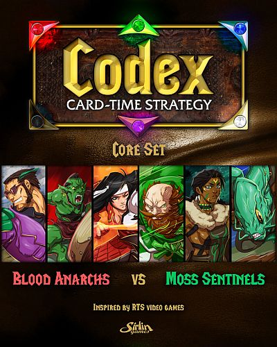 Codex: Card-Time Strategy - Blood Anarchs vs. Moss Sentinels (Core Set)