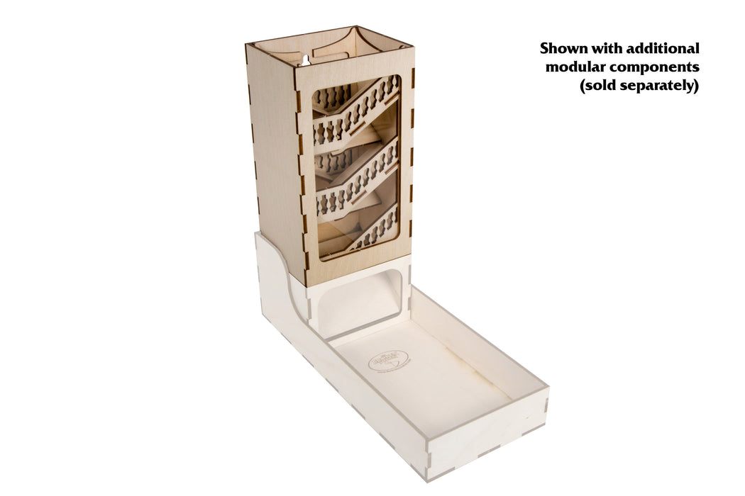 Modular Dice Tower - Stair (Broken Token)