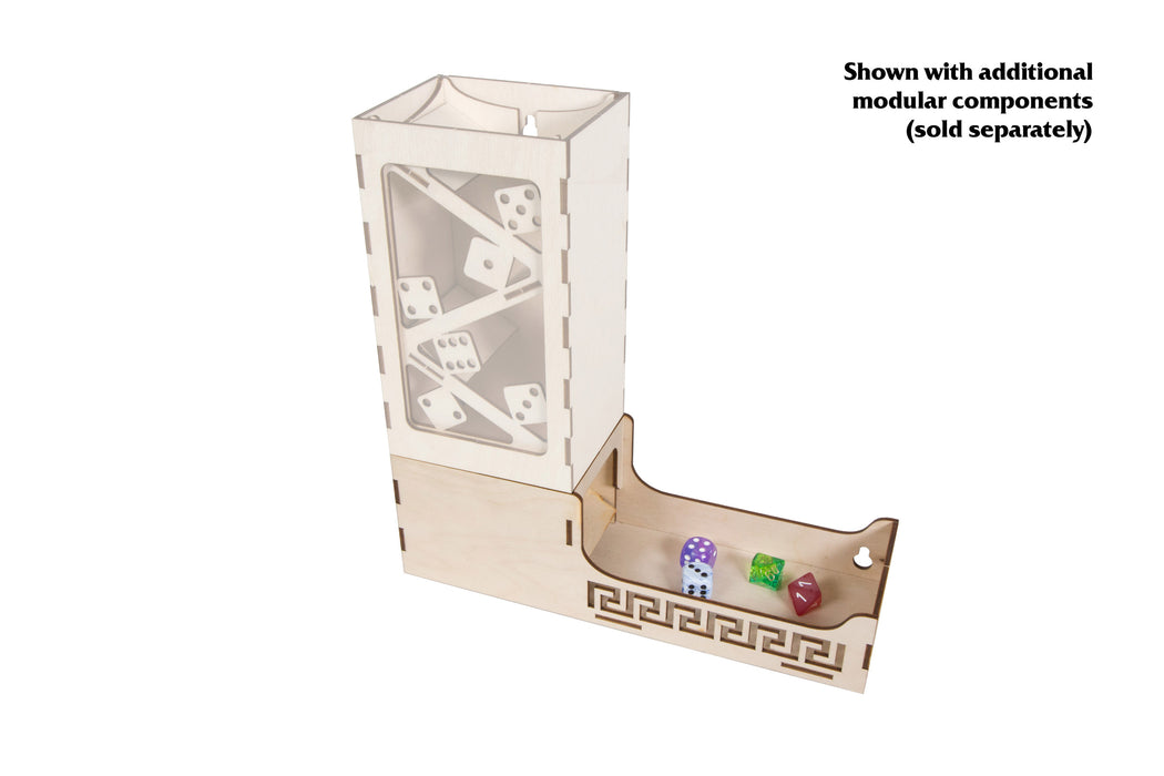 Modular Dice Tower - Base Side (Broken Token)