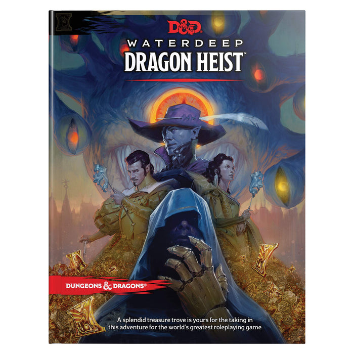 Dungeons & Dragons (5th Edition):  Waterdeep Dragon Heist Book