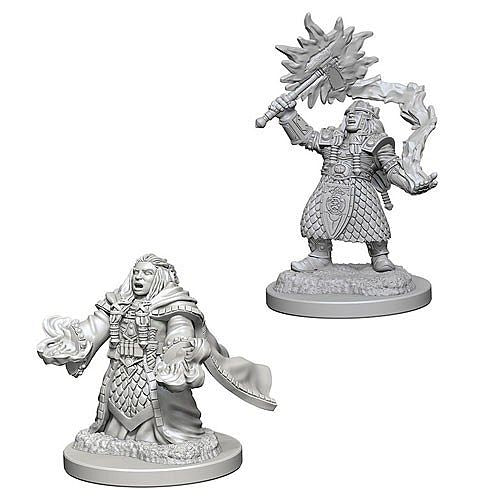 D&D Dungeons & Dragons - Nolzur's Marvelous Miniatures: Female Dwarf Cleric