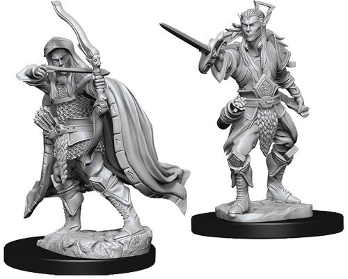 D&D Dungeons & Dragons - Nolzur's Marvelous Miniatures: Male Elf Rogue