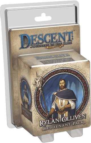 Descent: Journeys in the Dark (Second Edition) – Rylan Olliven Lieutenant Pack