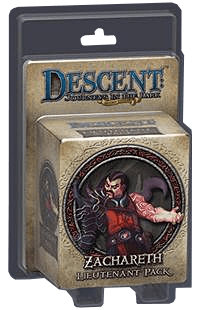 Descent: Journeys in the Dark (Second Edition) – Zachareth Lieutenant Pack