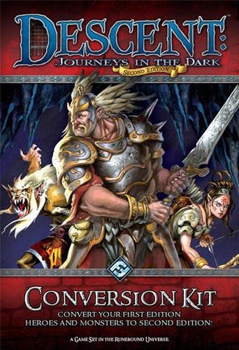 Descent: Journeys in the Dark (second edition) – Conversion Kit