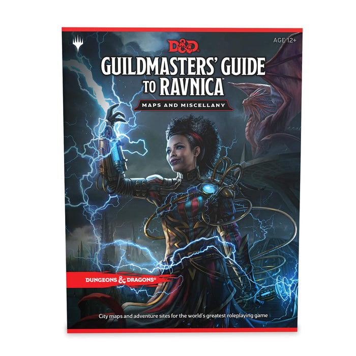 Dungeons & Dragons (5th Edition):  Guildmaster's Guide to Ravnica Maps and Miscellany
