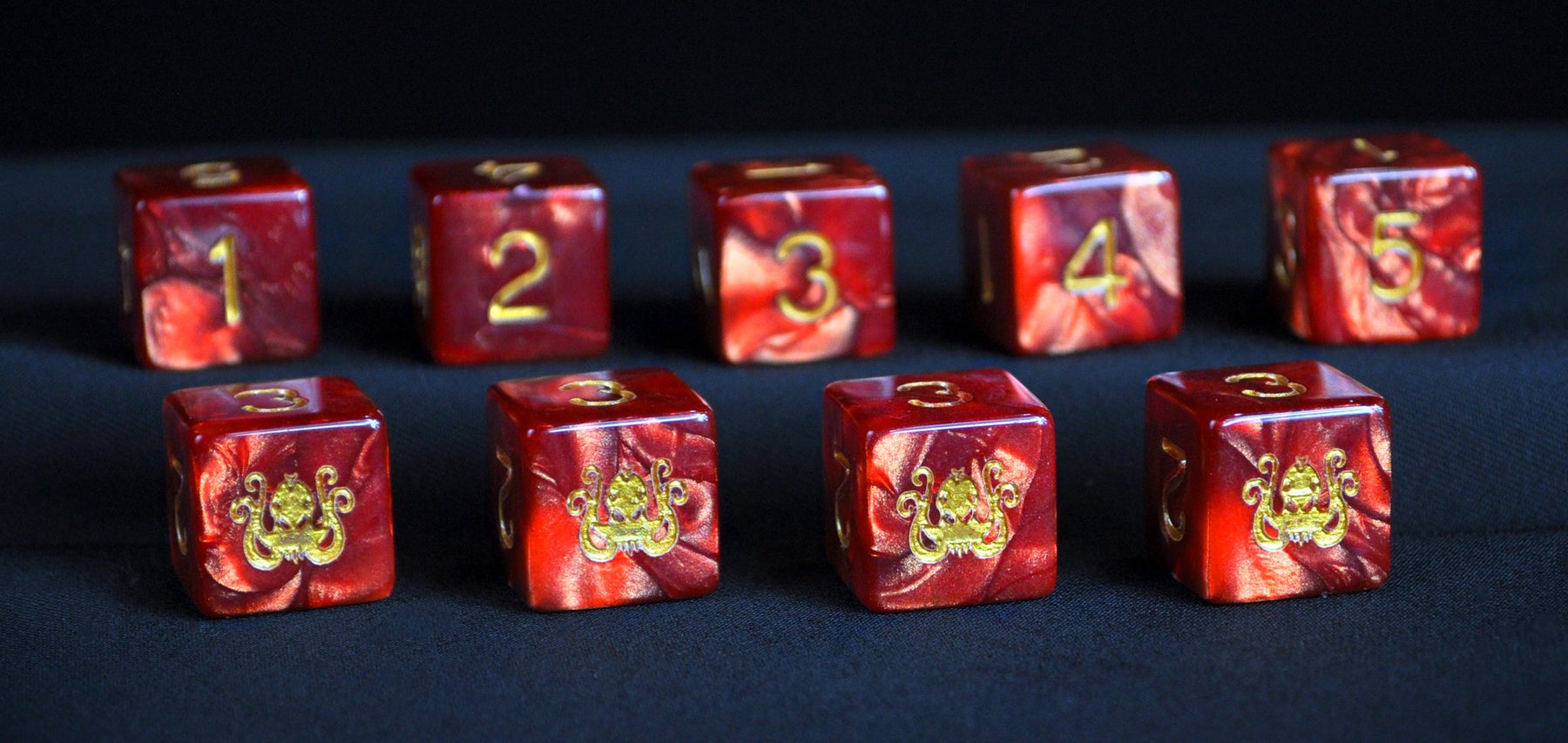 Elder Dice: Red Cthulhu (d6 Tube)