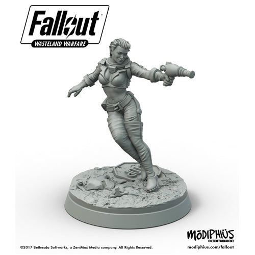 Fallout: Wasteland Warfare - Nuka-Cola Girl miniature