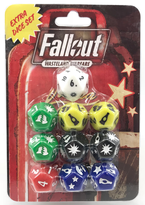 Fallout: Wasteland Warfare – Extra Dice Set