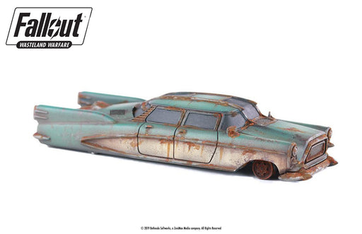 Fallout: Wasteland Warfare - Terrain Expansion: Corvega Sedan