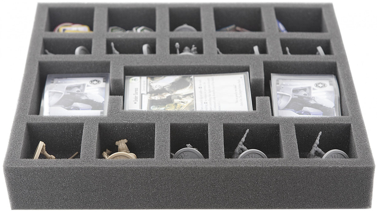 Feldherr Star Wars Imperial Assault - The Bespin Gambit, 35 (1.38 inches) mm foam tray (AS035IA12)
