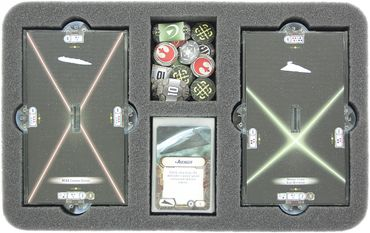 Feldherr MAXI Bag for Star Wars Armada Wave 1 and Wave 2 - Rebels Games Star Wars Armada (MAX15BO)