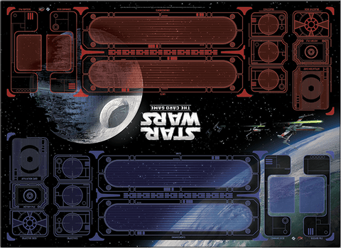 Galactic Conflict Two-Player Playmat for Star Wars: The Card Game