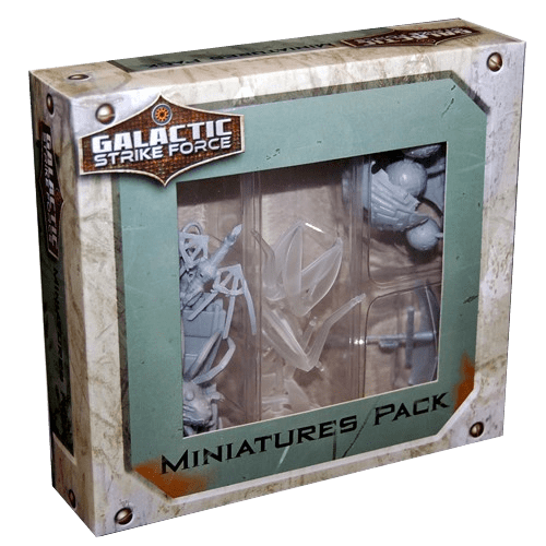 Galactic Strike Force: Ship Miniatures Pack 1