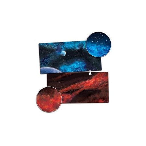 "Gaming Mat - Crimson Gas Giant / Frozen Star System (36"" x 72"")"