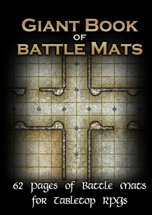 Giant Book of Battle Mats (A3)