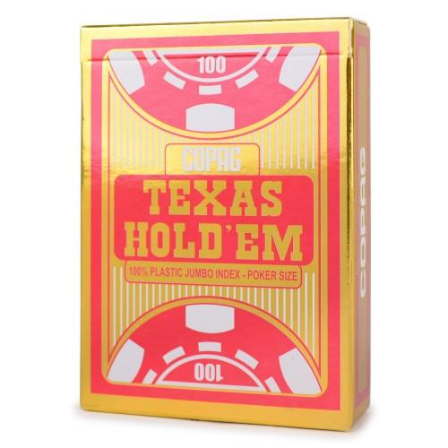 Copag, 100% Plastik Poker - Texas Hold'em Gold