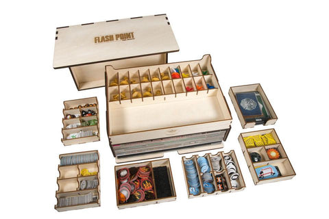 Opbevaringskasse til Flash Point: Fire Rescue Game Crate (Broken Token)