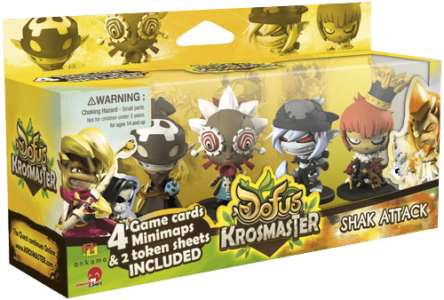 Krosmaster: Arena – Season 1 Expansion #8 - Shak Attack