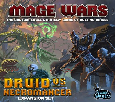 Mage Wars: Druid vs. Necromancer