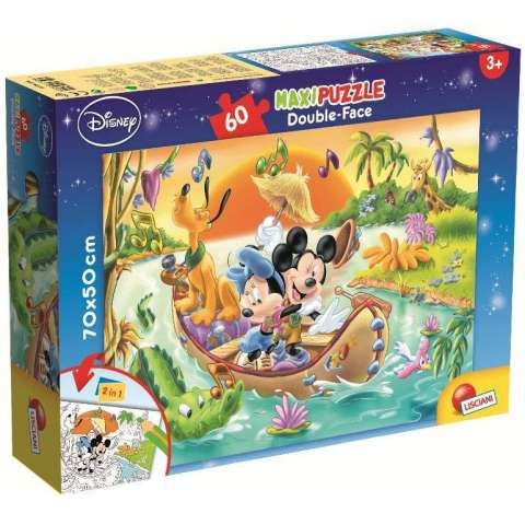 Mickey Mouse, Maxi Puzzle (Double-Face)