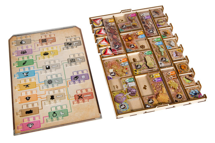 Spilordner til Founders of Gloomhaven (Broken Token) (ORG079)