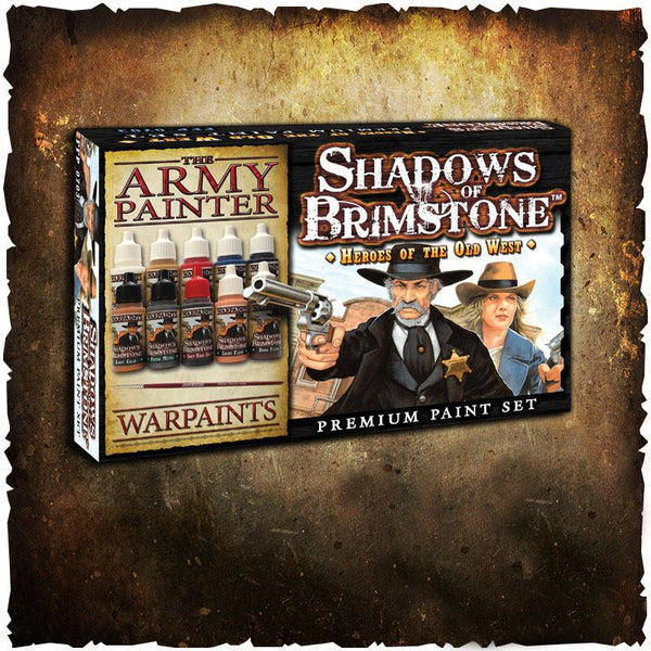 Shadows of Brimstone: Heroes of the Old West – Paint Set