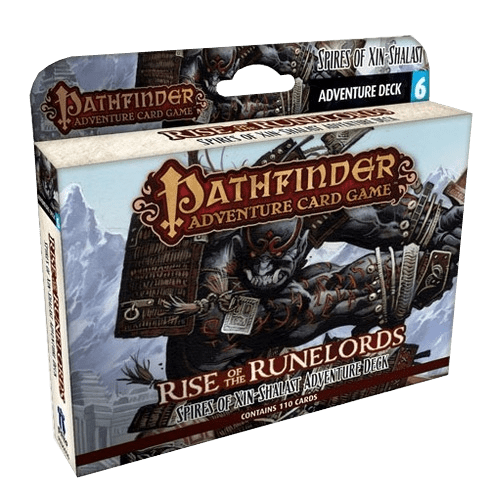 Pathfinder Adventure Card Game: Rise of the Runelords – Spires of Xin-Shalast Adventure Deck