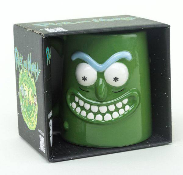 Rick and Morty 3D Mug Pickle Rick